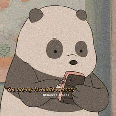 We Are Bears, Ice Bear We Bare Bears, We Bear, Bear Wallpaper, Cute Anime Wallpaper, Hiding Feelings, We Bare Bears Wallpapers, Aesthetic Pastel Wallpaper, Spam