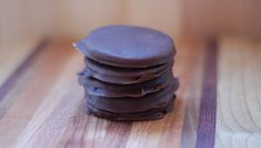 All-Natural Thin Mint Cookies