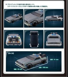 CRAZY CASE BACK TO THE FUTURE II DELOREAN TIME MACHINE(クレイジーケース デロリアン)【iPhone6対応】 | プレミアムバンダイ | バンダイ公式通販サイト