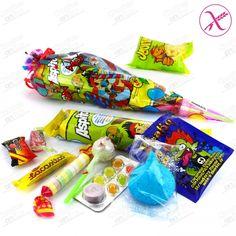 CUCURUCHOS SURTIDO SIN GLUTEN - Chuches online | Tienda de chuches, caramelos, golosinas, chocolates y frutos secos