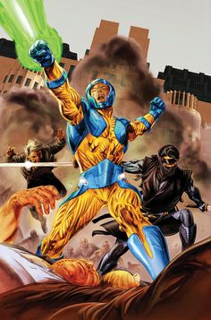 X-O MANOWAR #8 Cover by DOUG BRAITHWAITE