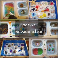 Sensory Book, Sensory Table, Tuff Tray, Sensory Integration, Reggio Emilia, Baby Play, Infant Activities, Baby Crafts, Teaching Kids