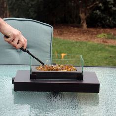 Attractive Shop Endless Summer 8.7 In W 6,000 BTU Oil Rubbed Bronze Portable Tabletop