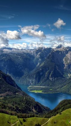 The Alps in Summer