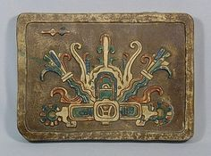 Mayan Revival Tile by Claycraft of California