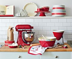John Lewis.  My kitchen looks like this a lot (minus the mixer...I want one).
