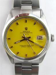 Yellow Vintage Rolex