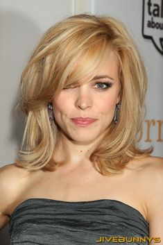 Luxurious glitter and glamour Rachel McAdams ...Fabulous Hairstyles...