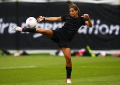 Tobin Heath...At 20, she was the youngest member of the team that went on to win the gold medal in 2008