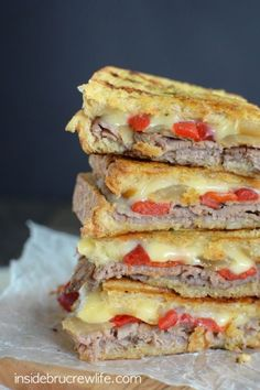 It's the panini for burger lovers.  Get the recipe from Inside BruCrew Life.
