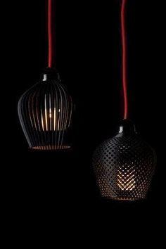 ➰3D. (I) A Dozen Elegant, 3-D-Printed Lamp Shades | Co.Design: business + innovation + design. #3d #printing #3dprintingbusiness #3dprinterbusiness