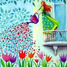 """Seeds of Love.""   May your heart burst wide open showering the world with love=> http://dennashelton.com/manage.numo?module=blog&component=display&show=post&id=29  Love"