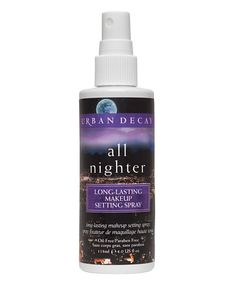 Urban Decay All Nighter Long Lasting Setting Spray. $29   This works sooo good!