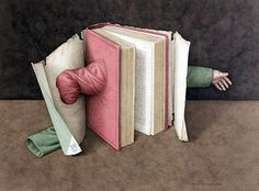 Books Show Their Human Side In Illustrations « Randommization