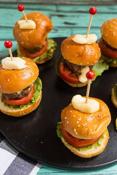 Stuffed Sliders Your Way | Recipe | Sliders, Slider Recipes and Recipe