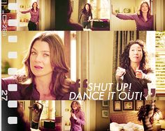 just dance it out! works great in any stressful situation. just shut up, and dance it out