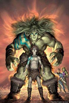 Skaar [Son of Hulk] by Alex Garner