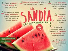 VIda saludable- Healthy life infographics on Behance Health And Nutrition, Health And Wellness, Best Diets To Lose Weight Fast, Better Life, Superfoods, Natural Health, Healthy Life, Watermelon, Yummy Food