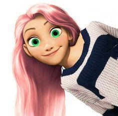 Rapunzel by Queen Elsa Of Arendelle Elsa Of Arendelle made it Rapunzel Edits, Disney Rapunzel, Disney High, Punk Disney, Disney Couples, Disney Girls, Disney Adoption, Princesse Disney Swag, Disney Princess Outfits