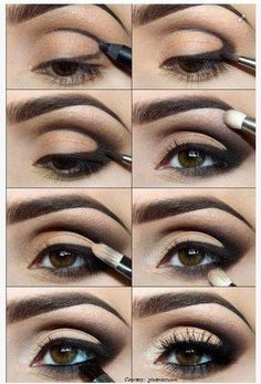 Smokey Eye Smoky Tutorial Makeup Black Eyeshadow Party