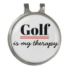 Golf is my therapy, gifts to golfer