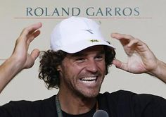 Gustavo Kuerten (Guga) - Tennis player - Among other awards, was three times champion at Roland Garros.