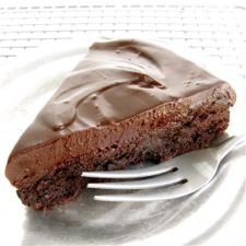 Flourless Chocolate Cake: This flourless cake, featuring both chocolate and cocoa, is rich, rich, RICH! A chocolate ganache glaze takes it over the top. And, since it contains neither flour nor leavening, it's perfect for Passover. And, of course, also ideal for those following a gluten-free diet.