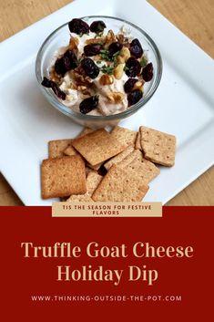 Festive Healthier Goat Cheese Holiday Appetizer #Montchevreisgoat #ad