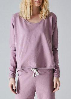 Sweatshirt lavendel 171-158 Jerry Jumper - lavender