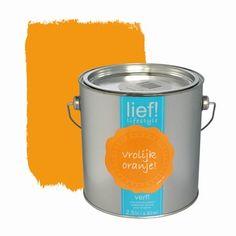 Lief! muurverf vrolijk oranje 2,5 l | Muurverf kleur | Muurverf | Verf & verfbenodigdheden | KARWEI