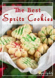 This recipe for Spritz cookies is the best because it's from Grandma's recipes! … This recipe for Spritz cookies is the best because it's from Grandma's recipes! These are buttery little gems that are perfect for gift giving. Best Spritz Cookie Recipe, Spritz Cookies, Jello Cookies, Baking Cookies, Shortbread Cookies, Cake Cookies, Cupcakes, German Christmas Cookies, Holiday Cookies