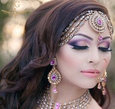 2014 BRIDAL HAIRTYLES | pakistani-and-indian-bridal-hairstyle-trend-2014-4