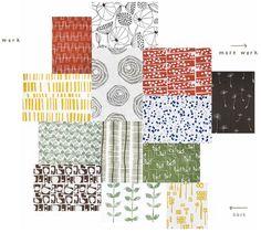 Lotta Jansdotter love this fabric line