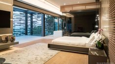 Architecture project forrest road, made by Nico Van Der Meulen-Designers, architects and furniture model furnishings online on Syncronia. Big Houses, Pool Houses, House Wall Design, Steel Cladding, Wood Staircase, Eco Friendly House, Lanai, Guest Bedrooms, Luxury Homes
