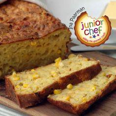 Mealie Bread - south african sweet baked bread made with sweetcorn South African Dishes, South African Recipes, Ethnic Recipes, Braai Recipes, Savoury Recipes, Healthy Recipes, Ma Baker, Kos, Baking Recipes