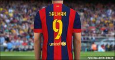 Jersey FC Barcelona 2014/2015 Salman 9