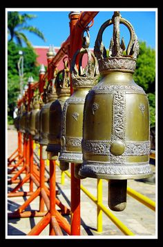 Buddhist Bells in Thailand