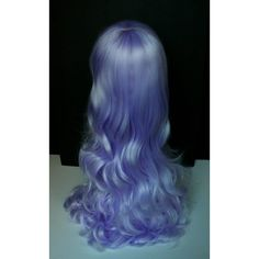Custom Made to Order Steven Universe Amethyst Cosplay Wig styled... ($70) ❤ liked on Polyvore featuring costumes, cartoon character halloween costumes, blue wig costume, blue costumes, comic costumes and wigs costume