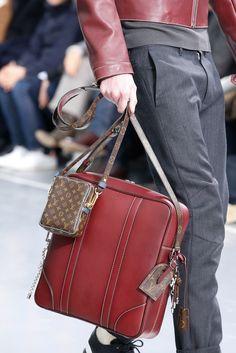 Louis Vuitton Fall 2015 Menswear Fashion Show Details