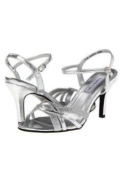 a8500b7378a2f9 Taryn Silver Strappy Sandal