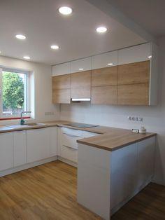 Small Room Design Bedroom, Kitchen Room Design, Small Space Kitchen, Modern Kitchen Design, Home Decor Kitchen, Interior Design Kitchen, Home Kitchens, Kitchen Cabinet Design, Cuisines Design