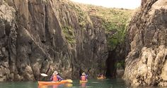 mayberry coastal kayaking in pembrokeshire Wales