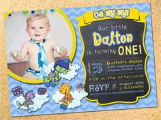 Shushybye  Baby First TV Inspired  Birthday Party by Owen & Sally Designs