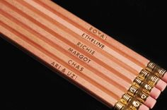Royal Tenenbaums Pencils. Aw.