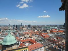 Ein Blick über die Stadt - Juni 2014