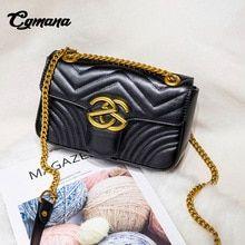 8adf80fa41c7f CGmana Women Handbags 2018 V stripe Women Bags Famous Brand Designer  Leather Women Shoulder Bags Cross-body Bags Bolsos Mujer