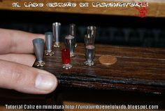 Tutorial; Cáliz en miniatura (reciclando) | Una tumba en el olvido
