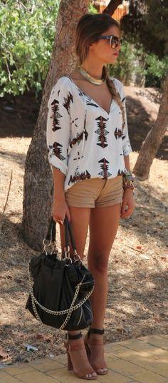 boho chic  Summer Street Fashion to the Max!