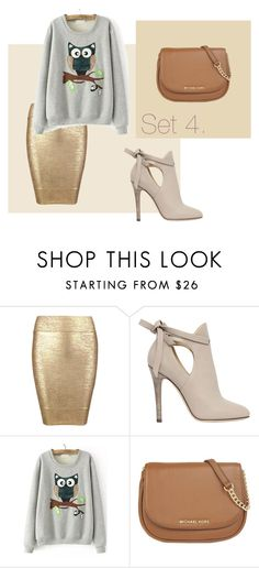 office causal by slounis on Polyvore featuring moda, Posh Girl, Jimmy Choo, MICHAEL Michael Kors, women's clothing, women's fashion, women, female, woman and misses