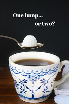 Make your own  fancy sugar cubes - it's easy!